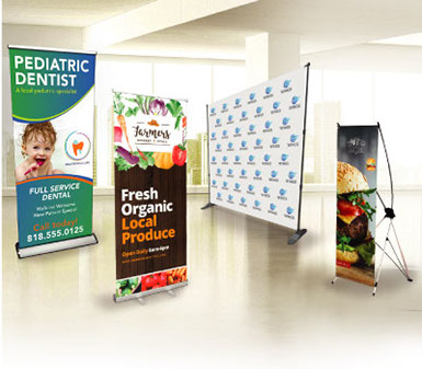 Banner printing & custom banner stands