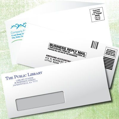 Custom business envelope printing
