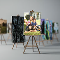 Mounted canvas prints - canvas photo prints