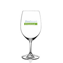 Crystal glassware by the Riedel brand