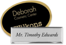 Custom engraved name tags