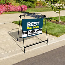 Real estate sign perfect for any sidewalk sign function