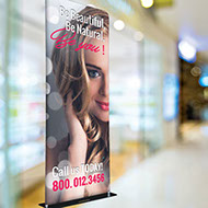 Fabric banners - fabric tube displays