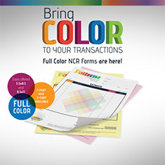 Full color business forms