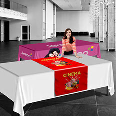 Custom tablecloths - Full color tablecloth printing